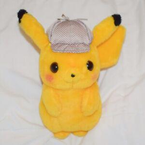 Detective Pikachu Plush Pokemon Center 8 Authentic Movie