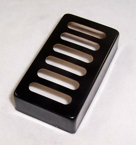 BLACK METAL NEO TRADITIONAL TOASTER HUMBUCKER NECK PICKUP COVER