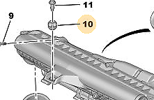 GENUINE CITROEN PEUGEOT AIR BOX BUSH PART NUMBER 1440G3