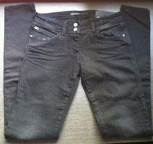 Miss-Sixty-Brenda-Denim-Jeans-W-24-L-34-Pantalon-vaquero-MUJER