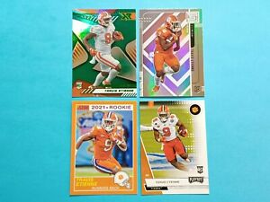 2021 Panini Chronicles Draft Picks LOT OF 4 Travis Etienne RC Cards