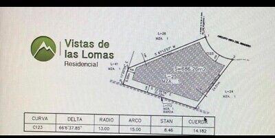 Terreno Venta en Vistas de las Lomas Chihuahua.