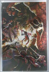 Secret-Wars-1-Alex-Ross-Full-Art-2nd-Low-Print-Run-Variant-NM-VF-Rare-Marvel