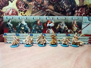 HERO-SET-of-ZOMBICIDE-BLACK-PLAGUE-shaded-Heroquest-D-amp-D-Green-Horde