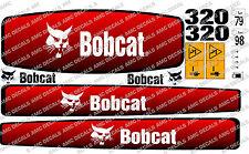BOBCAT 320 Mini Escavatore decalcomania Set