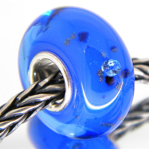 MURANO GLASS BEAD AUTHENTIC 925 STERLING SILVER OOAK EUROPEAN CHARM BEADS 3225