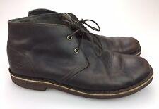 cc93bd1d480 UGG Australia Leighton Chukka Coffee Brown Leather Ankle BOOTS Size 10 3275