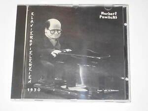 CD-NORBERT-PAWLICKI-KLAVIERSPIELEREIEN-1990-Paco-DDD-Produktion-MEGARAR