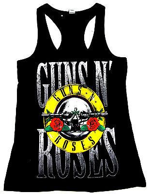 NEW GUNS N ROSES T-shirt Hard Rock Tee  GnR Slash Axl Rose JUNIORS Women 2XL