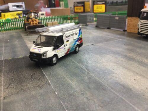 1//76 Code3 BT Fibre  Oxford diecast ford transit