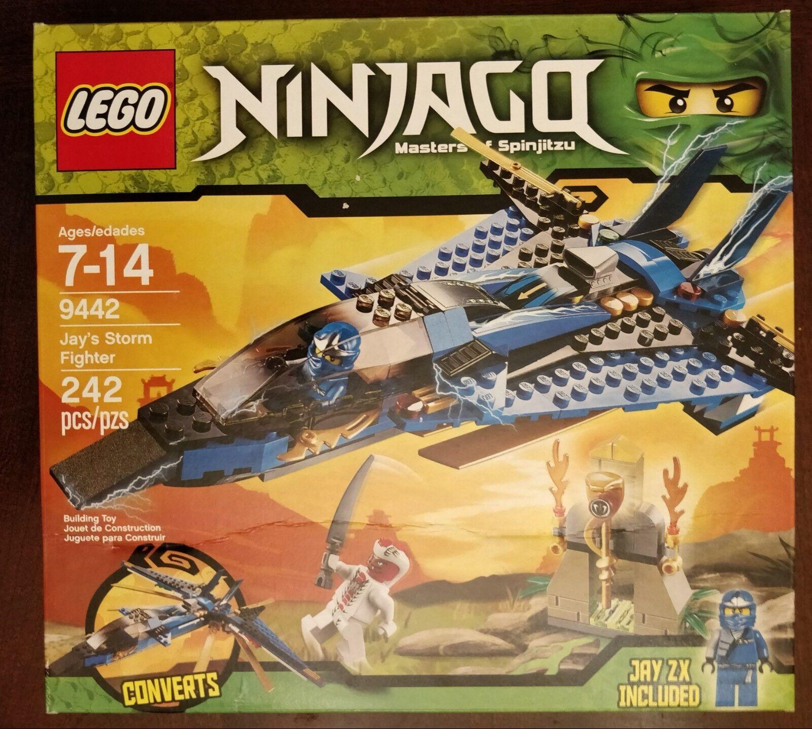 LEGO Ninjago Jay's Storm combatiente (9442), nuovo IN  scatola FACTORY SEALED  nessun minimo