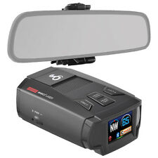 Cobra SPX 7800BT Bluetooth Radar/Laser/Camera Detector & Mirror Mount Bundle