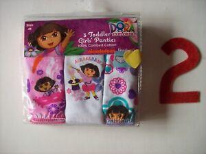 Ni Hao Kai-Lan Toddler Girls Underwear Underpants 3 Pair Panty Pack Size 4T NIP