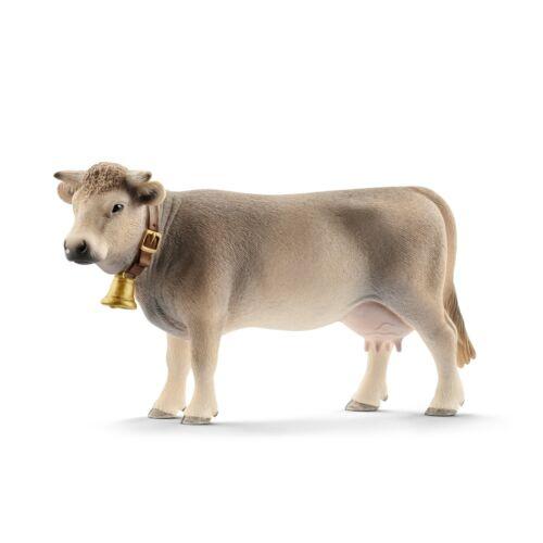 Schleich Farm World 13874 Braunvieh Kuh    Neu