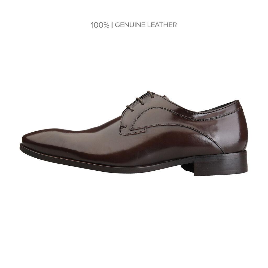 ROCHAS 7367_DORIAN3T_MARRON Herrenschuhe Business-Schuhe, Schnürschuhe, braun