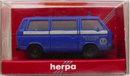 THW VW Bus T3 Modell NEU Herpa 1:87 H0