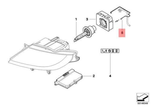 Genuine Fixing clamp Xenon cable BMW Z4 Coupe Roadster E85 E86 63117178714