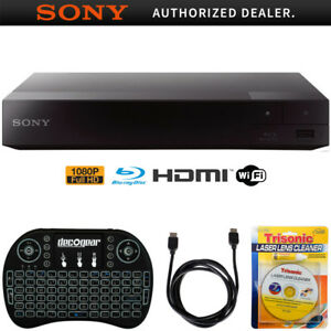 Sony-Streaming-Blu-ray-Disc-Player-w-Wi-Fi-BDP-S3700-Accessories-Bundle