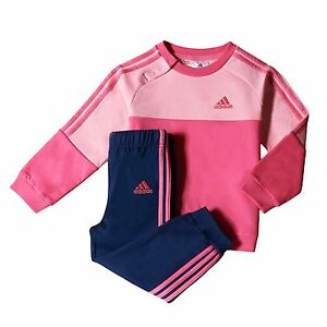 official photos 94e51 7bb2d 3105 ADIDAS TUTA BAMBINA GINNASTICA JR COTTON TUTINA ...