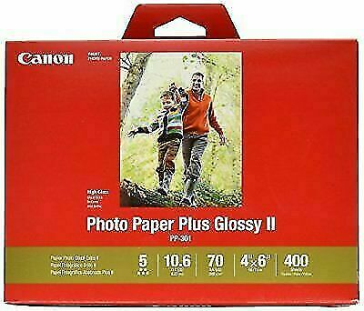 20 Sheets//Package Canon PP-301 13-Inch x 19-Inch Photo Paper Plus Glossy