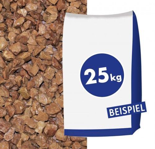 0,44€//1kg Marmorsplitt Rosso Verrona 12-16mm 25kg Sack