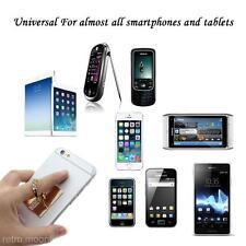 Silber Universal 3 Reihen Strass Handy Ständer Ring Handyhalter Für iPhone
