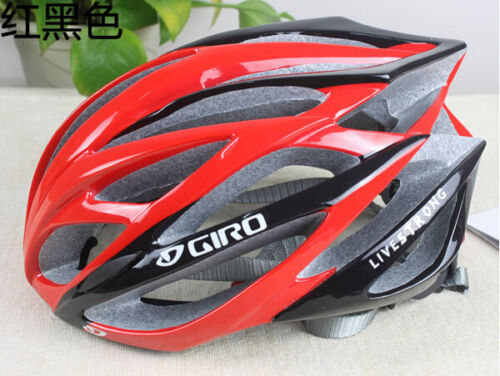 HOt Giro helmet bicycle road live strong unisex fit 56-62cm red black