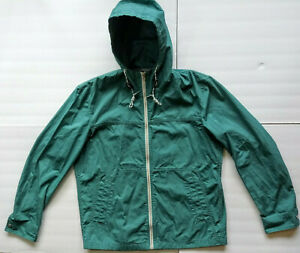 pretty and colorful buy good super service Details about Uniqlo Jacket Windbreaker Hooded Coat Rain Water Repellent  Zip Up Zipper Mens XL