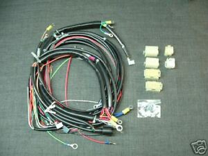 Details about HARLEY SPORTSTER WIRING HARNESS XLH 1992-93 on
