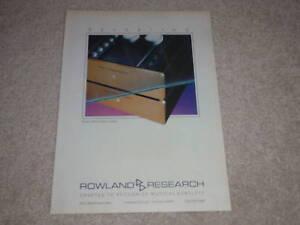 Jeff-Rowland-Model-3-Mono-Amplifier-Ad-1987-RARE