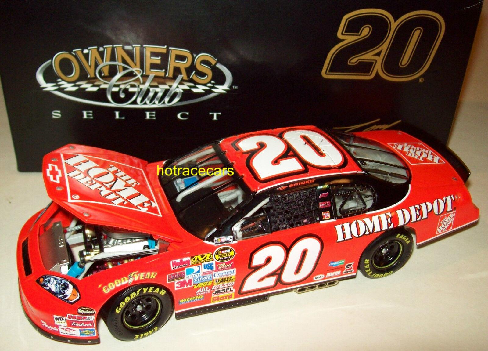Tony Stewart 2007 Home Depot Monte Carlo SS Joe Gibbs Racing 1 24 NASCAR New