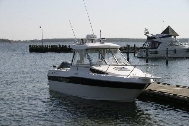 Fabriksny - Campion 682 OB SC HT BRA Explorer, Kabinebåd,