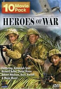 Heroes-of-War-10-Movie-Pack-Boxset-New-DVD