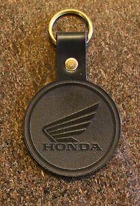 Leather-Honda-Motorcycle-Keyring