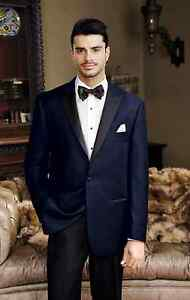 2dff21db505 New Mens Navy Velvet Tuxedo Dinner Jacket Cruise Formal Holiday ...