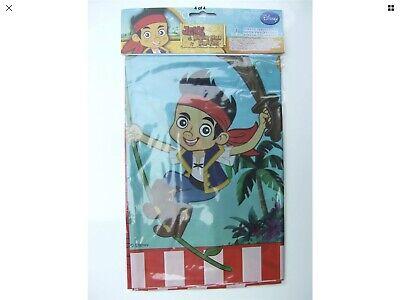 Disney Jake Neverland Pirates Plastic Table Cover 120 X 180cm 5201184806869 Ebay