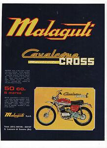 Pubblicita-1973-MALAGUTI-CAVALCONE-CROSS-MOTO-MOTOR-advert-werbung-publicite