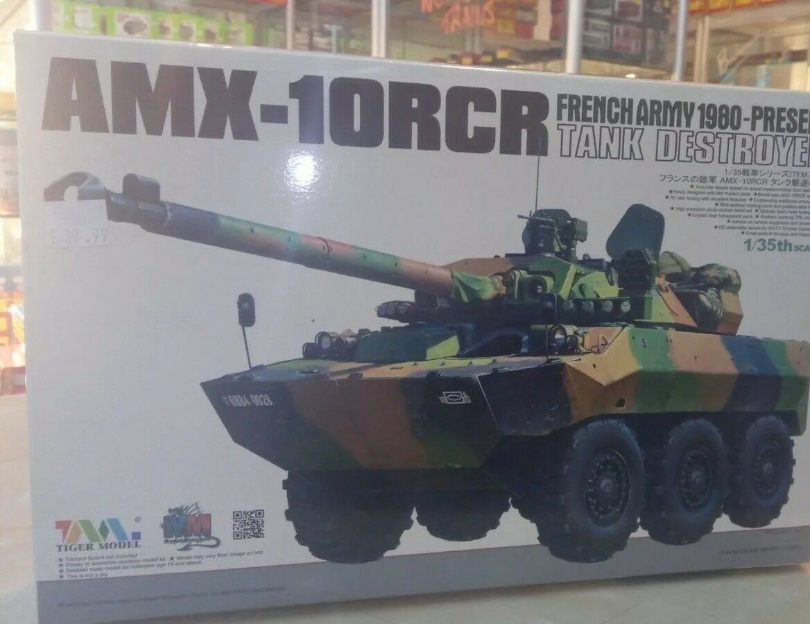 Tiger Models 4602,  1 35 French AMX-10RCR  BRAND NEW