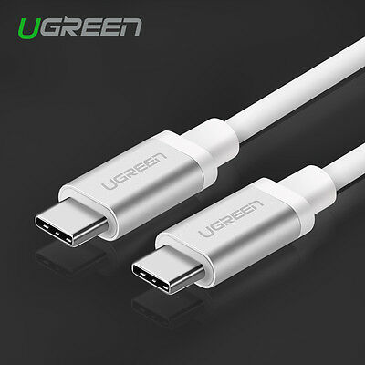 Ugreen USB C 3.1 Type-C Male to Male Charging Data Cable For Macbook Nexus 5X 6P