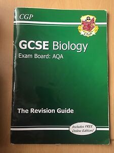Gcse science revision books aqa