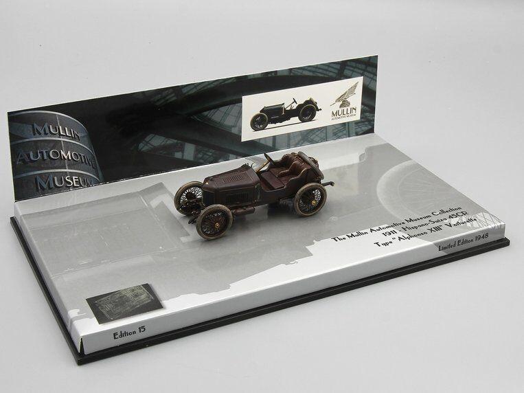 negozi al dettaglio MINICHAMPS 1 1 1 43  HISPANO-SUIZA (15-45CV) 1911  TYPE ALPHONSO XIII  VOITURETTE  prezzi eccellenti