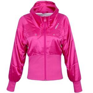 Adidas Trefoil Blouson Jacket Damen Satin Jacke Windjacke ...
