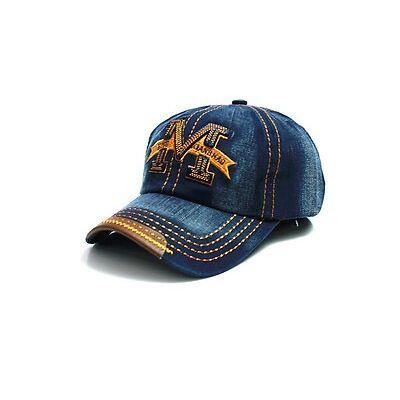 Baseball Cap basecap mütze baseballcap kappe unisex vintage Hip Hop urban denim