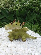 Miniature Dollhouse FAIRY GARDEN Dragon ~ Mini Dragons Hugging Figurine ~ NEW