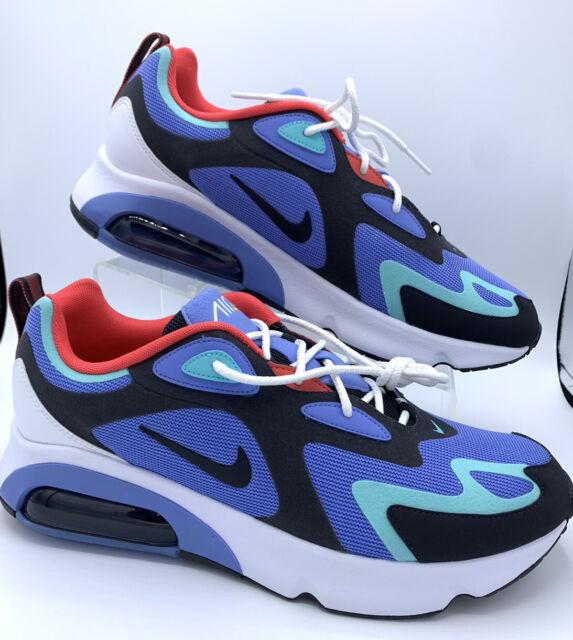 Nike Air Max 200 Royal Pulse AQ2568 401 Mens Size 10.5