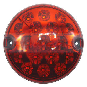 95MM-LED-ROUND-REAR-STOP-TAIL-LAMP-LIGHT-UPGRADE-LAND-ROVER-90-110-DEFENDER-NAS
