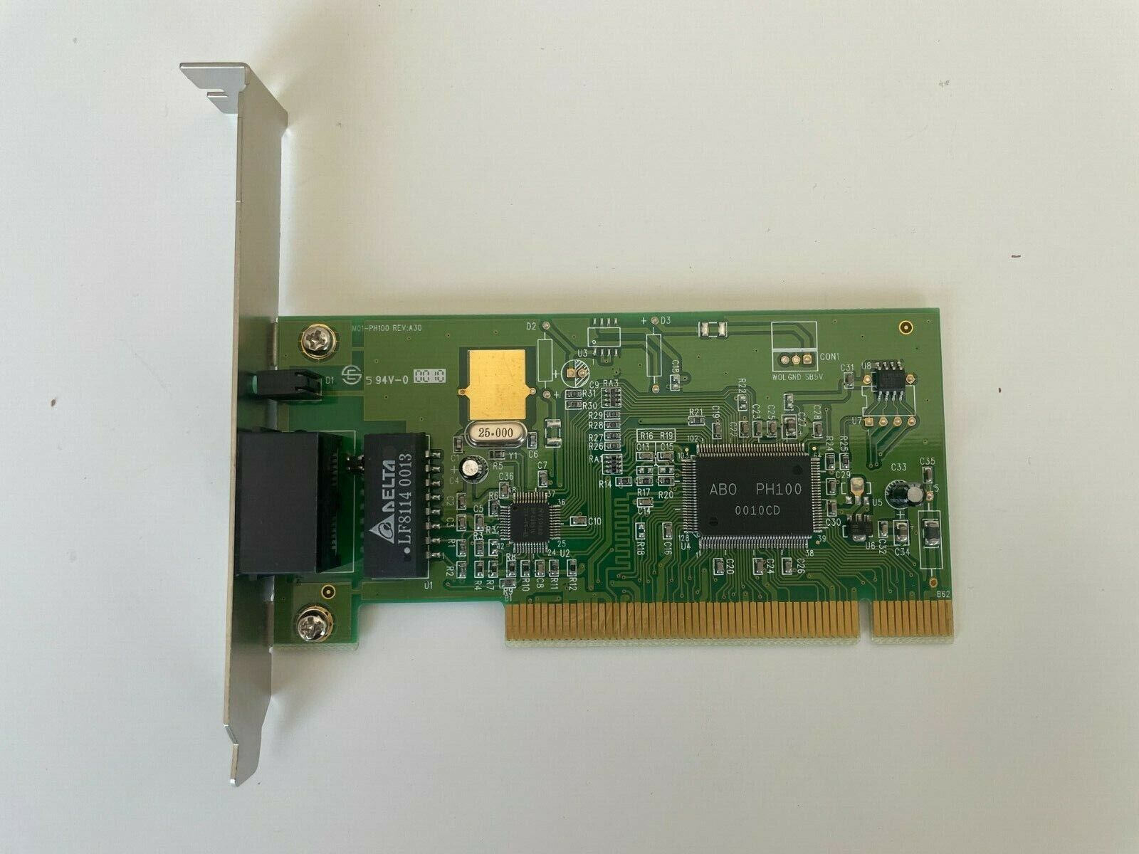 ABO Chipset Networking PCI Slot 10/100 Card