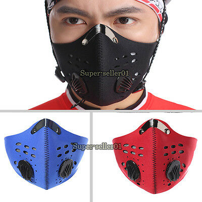 Bike Mouth Mask Sport Mouth-muffle Dustproof & Dust Filter Anti-pollution Mask