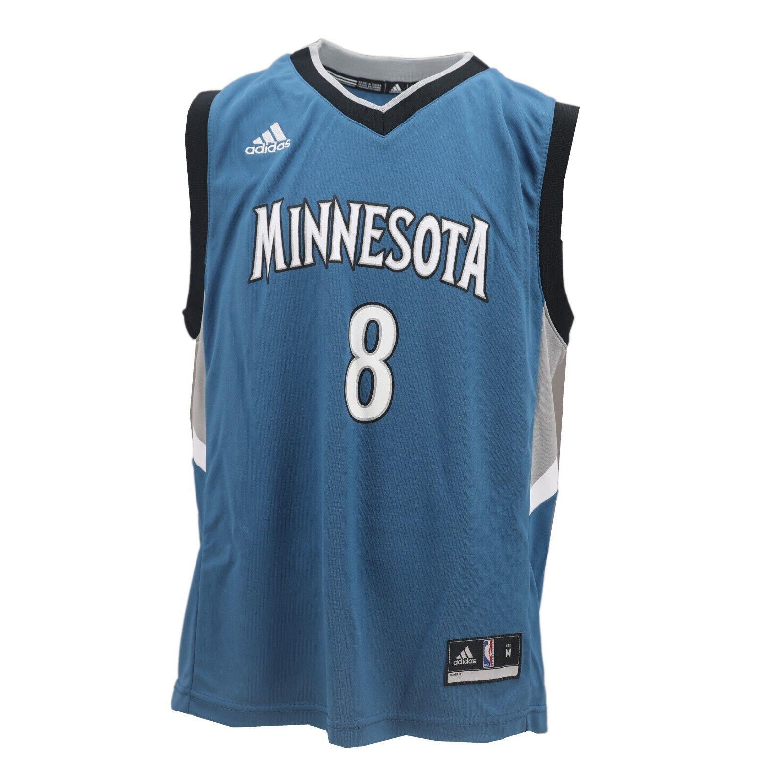 Minnesota Timberwolves Adidas Nba Kids Youth Size Zach Lavine