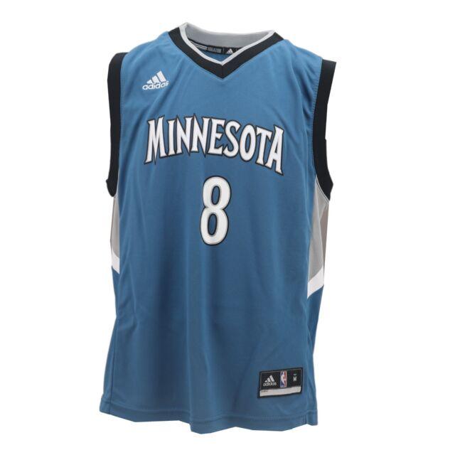 88e5e3588 Minnesota Timberwolves Adidas NBA Kids Youth Size Zach LaVine Jersey New  Tags